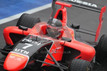 © 2012 Octane Photographic Ltd. British GP Silverstone - Friday 6th July 2012 - GP3 Practice - Marussia Manor Racing - Dmitry Suranovich. Digital Ref : 0397lw1d2226