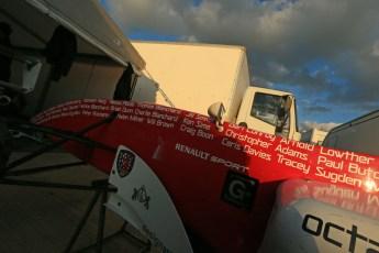 © Octane Photographic Ltd 2012. Formula Renault BARC -  Sponsors of Kieran Vernon. Silverstone - Saturday 6th October 2012. Digital Reference: