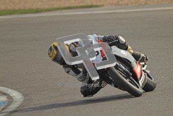 © Octane Photographic Ltd. Thundersport – Donington Park -  24th March 2012. Aprillia RRV450GP Challenge, Luke Thackeray. Digital ref : 0259cb7d3231