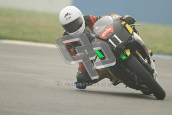 © Octane Photographic Ltd. Thundersport – Donington Park - 24th March 2012. Aprillia Superteens, Joe Sheldon-Shaw. Digital ref : 0252cb7d1549
