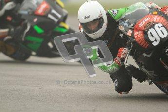 © Octane Photographic Ltd. Thundersport – Donington Park -  24th March 2012. Aprillia Superteens, Conor Wheeler and Jow Sheldon-Shaw. Digital ref : 0252cb7d1563