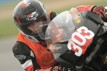 © Octane Photographic Ltd. Thundersport – Donington Park -  24th March 2012. Aprillia Superteens, Aiden Walker. Digital ref : 0252cb7d1587