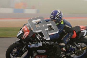 © Octane Photographic Ltd. Thundersport – Donington Park -  24th March 2012. Aprillia Superteens, William Caines. Digital ref : 0252lw7d0106