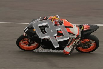 © Octane Photographic Ltd. Thundersport – Donington Park -  24th March 2012. Aprillia Superteens, Sam Smith. Digital ref : 0252lw7d0177