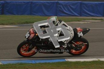 © Octane Photographic Ltd. Thundersport – Donington Park -  24th March 2012. Aprillia Superteens, Joe Thompson. Digital ref : 0252lw7d0197