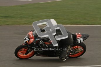 © Octane Photographic Ltd. Thundersport – Donington Park - 24th March 2012. Aprillia Superteens, Ryan McAdam. Digital ref : 0252lw7d0208