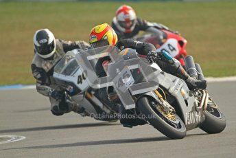 © Octane Photographic Ltd. Thundersport – Donington Park -  24th March 2012. RST Motorcycle Clothing Golden Era Superbikes, Iam Simpson and Keith Smith. Digital ref : 0257cb7d2795