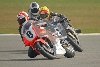 © Octane Photographic Ltd. Thundersport – Donington Park -  24th March 2012. RST Motorcycle Clothing Golden Era Superbikes, Dave Harnett and Iam Simpson. Digital ref : 0257cb7d2823