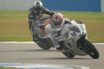 © Octane Photographic Ltd. Thundersport – Donington Park - 24th March 2012. HMT Racing Pre-National Sport 600, Charley Oakland. Digital ref : 0255cb7d2223