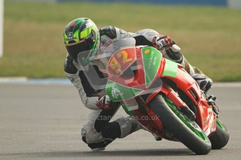 © Octane Photographic Ltd. Thundersport – Donington Park -  24th March 2012. HMT Racing Pre-National Sport 600, Matthew Jones. Digital ref : 0255cb7d2277