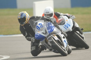 © Octane Photographic Ltd. Thundersport – Donington Park -  24th March 2012. HMT Racing Pre-National Sport 600, Ben Neary and Paul Goodwin. Digital ref : 0255cb7d2288