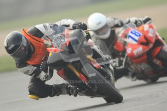 © Octane Photographic Ltd. Thundersport – Donington Park -  24th March 2012. HMT Racing Pre-National Sport 600 David Brook and Mark Evans. Digital ref : 0255cb7d2392