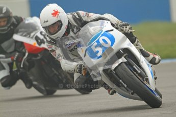 © Octane Photographic Ltd. Thundersport – Donington Park - 24th March 2012. Doodson Motorsport Supertwins & F400, Steven Jones. Digital ref : 0254cb7d1847