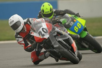 © Octane Photographic Ltd. Thundersport – Donington Park -  24th March 2012. Doodson Motorsport Supertwins & F400, Tom Oliver and Josh Daley. Digital ref : 0254cb7d1863