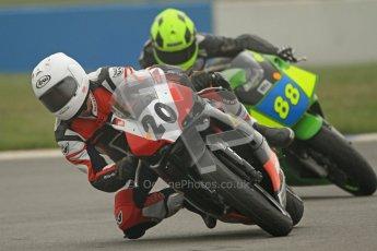 © Octane Photographic Ltd. Thundersport – Donington Park - 24th March 2012. Doodson Motorsport Supertwins & F400, Tom Oliver and Josh Daley. Digital ref : 0254cb7d1863