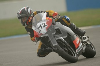 © Octane Photographic Ltd. Thundersport – Donington Park -  24th March 2012. Doodson Motorsport Supertwins & F400, Russel Brown. Digital ref : 0254cb7d1886