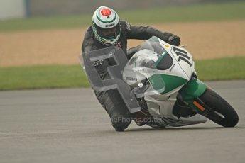 © Octane Photographic Ltd. Thundersport – Donington Park - 24th March 2012. Doodson Motorsport Supertwins & F400, Gary Henrickson. Digital ref : 0254cb7d1898