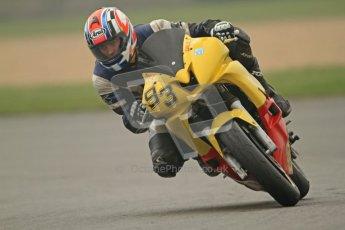 © Octane Photographic Ltd. Thundersport – Donington Park - 24th March 2012. Doodson Motorsport Supertwins & F400, Dale Thomas. Digital ref : 0254cb7d1904