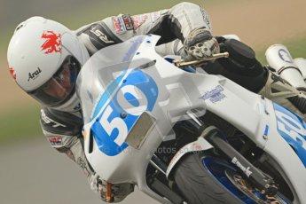 © Octane Photographic Ltd. Thundersport – Donington Park -  24th March 2012. Doodson Motorsport Supertwins & F400, Steven Jones. Digital ref : 0254cb7d1987