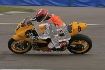 © Octane Photographic Ltd. Thundersport – Donington Park -  24th March 2012. Doodson Motorsport Supertwins & F400, Ben Crowe. Digital ref : 0254lw7d0892