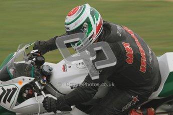 © Octane Photographic Ltd. Thundersport – Donington Park - 24th March 2012. Doodson Motorsport Supertwins & F400, Gary Henrickson. Digital ref : 0254lw7d1047