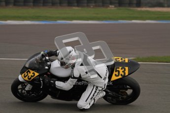 © Octane Photographic Ltd. Thundersport – Donington Park - 24th March 2012. Doodson Motorsport Supertwins & F400, Joe Ravenscroft. Digital ref : 0254lw7d1111