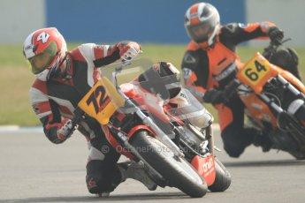 © Octane Photographic Ltd. Thundersport – Donington Park - 24th March 2012. Bridgestone Thundersport 500, Mike Baily and Adam Palfreman. Digital ref : 0256cb7d2518