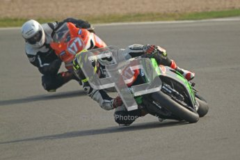 © Octane Photographic Ltd. Thundersport – Donington Park -  24th March 2012. Morello Services Thundersport GP1 / Superstock 1000, Ed Pead and John Blundell. Digital ref : 0258cb7d3120