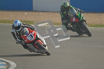 © Octane Photographic Ltd. Thundersport – Donington Park -  24th March 2012. Morello Services Thundersport GP1 / Superstock 1000, Adrian Clark and Daniel Hegarty. Digital ref : 0258cb7d3122