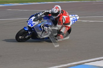 © Octane Photographic Ltd. Thundersport – Donington Park -  24th March 2012. Morello Services Thundersport GP1 / Superstock 1000, Bill Callister. Digital ref : 0258lw7d2495