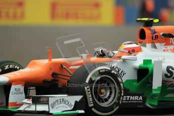 © 2012 Octane Photographic Ltd. European GP Valencia - Friday 22nd June 2012 - F1 Practice 1. Force India VJM05 - Jules Bianchi. Digital Ref : 0367lw1d2827