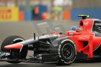 © 2012 Octane Photographic Ltd. European GP Valencia - Friday 22nd June 2012 - F1 Practice 1. Marussia MR01 - Charles Pic. Digital Ref : 0367lw1d2847