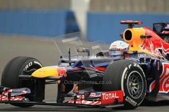 © 2012 Octane Photographic Ltd. European GP Valencia - Friday 22nd June 2012 - F1 Practice 1. Red Bull RB8 - Sebastian Vettel. Digital Ref : 0367lw1d2879