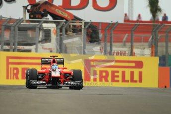© 2012 Octane Photographic Ltd. European GP Valencia - Friday 22nd June 2012 - F1 Practice 1. Marussia MR01 - Timo Glock. Digital Ref : 0367lw1d3108