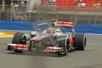 © 2012 Octane Photographic Ltd. European GP Valencia - Friday 22nd June 2012 - F1 Practice 1. McLaren MP4/27 - Lewis Hamilton. Digital Ref : 0367lw1d3320