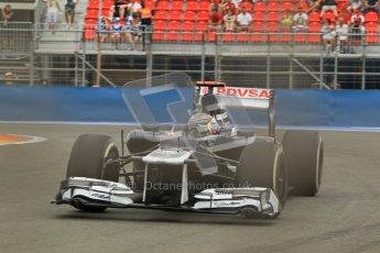 © 2012 Octane Photographic Ltd. European GP Valencia - Friday 22nd June 2012 - F1 Practice 1. Williams FW34 - Pastor Maldonado. Digital Ref : 0367lw1d3349