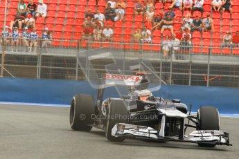© 2012 Octane Photographic Ltd. European GP Valencia - Friday 22nd June 2012 - F1 Practice 1. Williams FW34 - Pastor Maldonado. Digital Ref : 0367lw1d3411