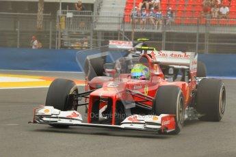© 2012 Octane Photographic Ltd. European GP Valencia - Friday 22nd June 2012 - F1 Practice 1. Ferrari F2012 - Felipe Massa. Digital Ref : 0367lw1d3419