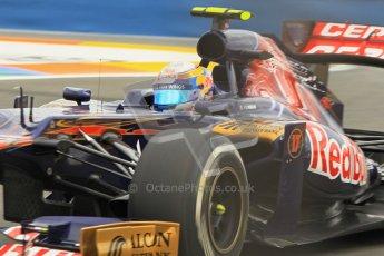 © 2012 Octane Photographic Ltd. European GP Valencia - Friday 22nd June 2012 - F1 Practice 1. Toro Rosso STR7 - Jean-Eric Vergne. Digital Ref : 0367lw1d3430