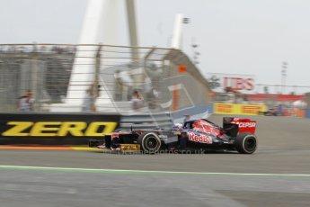 © 2012 Octane Photographic Ltd. European GP Valencia - Friday 22nd June 2012 - F1 Practice 1. Toro Rosso STR7 - Daniel Ricciardo. Digital Ref : 0367lw7d0007