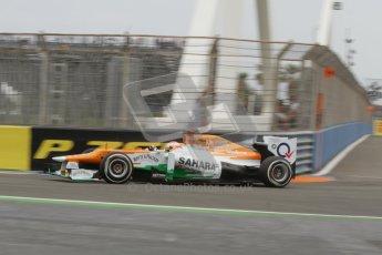 © 2012 Octane Photographic Ltd. European GP Valencia - Friday 22nd June 2012 - F1 Practice 1. Force India VJM05 - Paul di Resta. Digital Ref : 0367lw7d0029