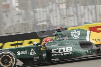 © 2012 Octane Photographic Ltd. European GP Valencia - Friday 22nd June 2012 - F1 Practice 1. Caterham CT01 - Heikki Kovalainen. Digital Ref : 0367lw7d9224