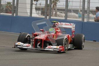 © 2012 Octane Photographic Ltd. European GP Valencia - Friday 22nd June 2012 - F1 Practice 1. Ferrari F2012 - Felipe Massa. Digital Ref : 0367lw7d9298