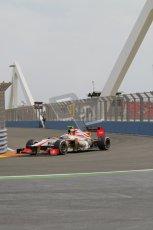© 2012 Octane Photographic Ltd. European GP Valencia - Friday 22nd June 2012 - F1 Practice 1. HRT F112 - Narain Karthikeyan. Digital Ref : 0367lw7d9647