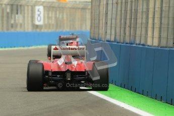 © 2012 Octane Photographic Ltd. European GP Valencia - Friday 22nd June 2012 - F1 Practice 2. Ferrari F2012 - Fernando Alonso. Digital Ref : 0368lw1d3851