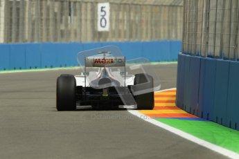 © 2012 Octane Photographic Ltd. European GP Valencia - Friday 22nd June 2012 - F1 Practice 2. Sauber C31 - Sergio Perez. Digital Ref : 0368lw1d3863
