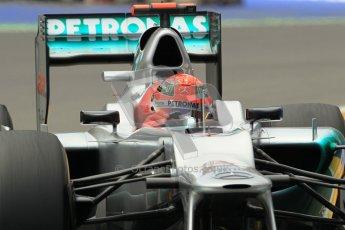 © 2012 Octane Photographic Ltd. European GP Valencia - Friday 22nd June 2012 - F1 Practice 2. Mercedes W03 - Michael Schumacher. Digital Ref : 0368lw1d3959