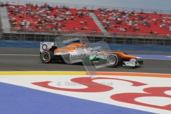 © 2012 Octane Photographic Ltd. European GP Valencia - Friday 22nd June 2012 - F1 Practice 2. Force India VJM05 - Paul di Resta. Digital Ref : 0368lw7d0633