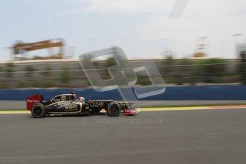 © 2012 Octane Photographic Ltd. European GP Valencia - Friday 22nd June 2012 - F1 Practice 2. Lotus E20 - Kimi Raikkonen. Digital Ref : 0368lw7d0670