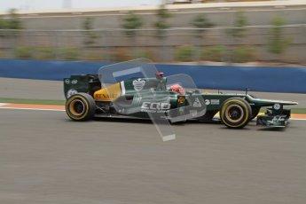 © 2012 Octane Photographic Ltd. European GP Valencia - Friday 22nd June 2012 - F1 Practice 2. Caterham CT01 - Heikki Kovalainen. Digital Ref : 0368lw7d0722
